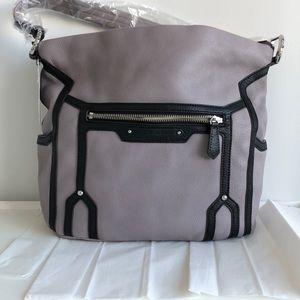 Grey/purple never used Aimee Kestenberg tote